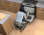 Is oven cleaner harmful?